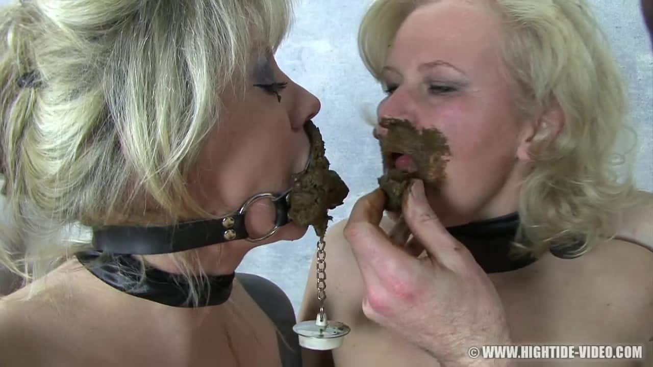 Best scat whore Veronica Moser playing with her mature and young ...